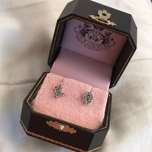 Juicy Couture Limited Edition XO Earrings